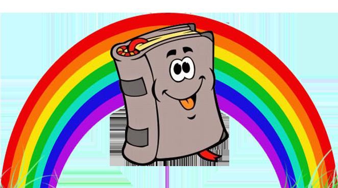Un arcobaleno di libri